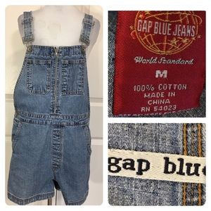 Vintage GAP overall shorts
